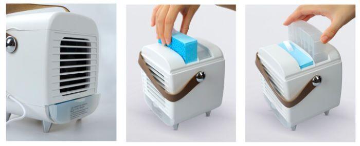 Blast Auxiliary Portable AC Usage