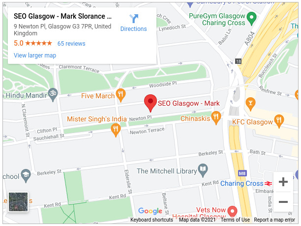 SEO Glasgow - Mark Slorance SEO