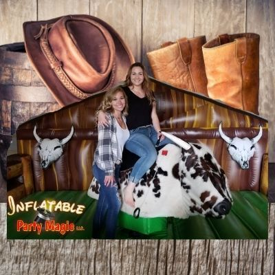 Inflatable Party Magic TX - Mechanical Bull Rental