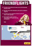 FriendFlights helps users easily find the lowest Germanwings airfares to visit their Facebook friends around Europe.
