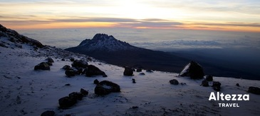Kilimanjaro Glaciers Melt Rapidly, Take a Chance to Ascend with Altezza Travel