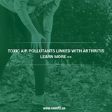 Industrial air filtration may be able to prevent the development of arthritis by absorbing air pollutants.
