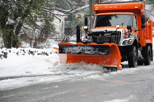 Snow Plows and Accidents on the Road
