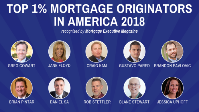 NFM Lending Loan Originators named among Top 1% by Mortgage Executive Magazine