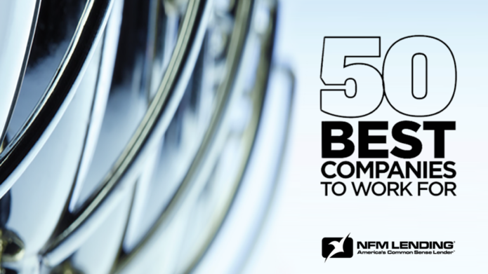 NFM Lending Named One of 50 Best Companies to Work For