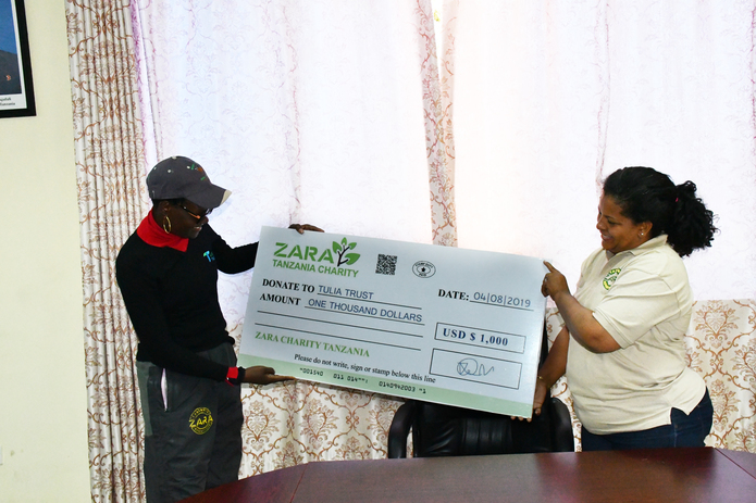 Dr. Tulia Ackson and Zara Charities Collaborate to Raise Awareness, Help Young Women