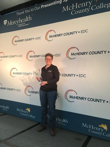 Camfil USA, A World Leader in Clean Air Initiatives, Awarded McHenry County Business Champion