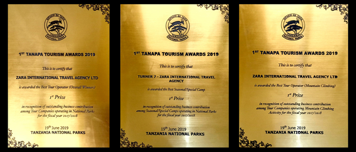 Best Mountain Climbing Tour Operator Awarded to Zara International Travel Agency Ltd