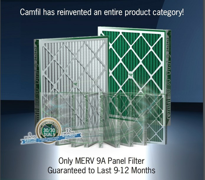HIGH QUALITY AIR FILTERS RESULT IN 33% ENERGY REDUCTION