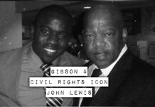 Gibson and Rep. John Lewis