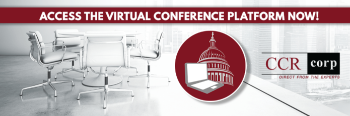 CCRcorp Announces Virtual Platform is Live for 2020 Conferences