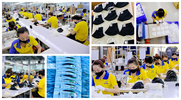 Safe & high-quality face mask, medical clothing (coverall, isolation gown) from Vietnam