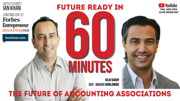 Julio Gabay CEO of Abacus Worldwide on the Future in 60 Minutes show with Futurist Ian Khan