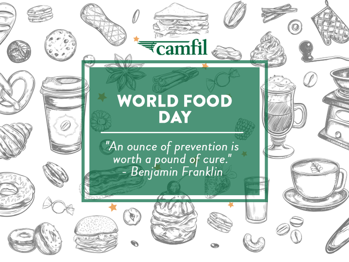 Camfil Celebrates the 75th Annual World Food Day