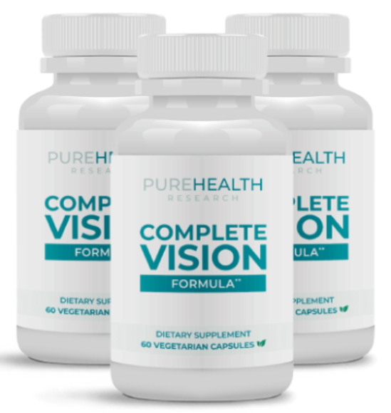 Complete Vision Formula Reviews - Does This Vision Supplement Really Works? Reviewed by DReview