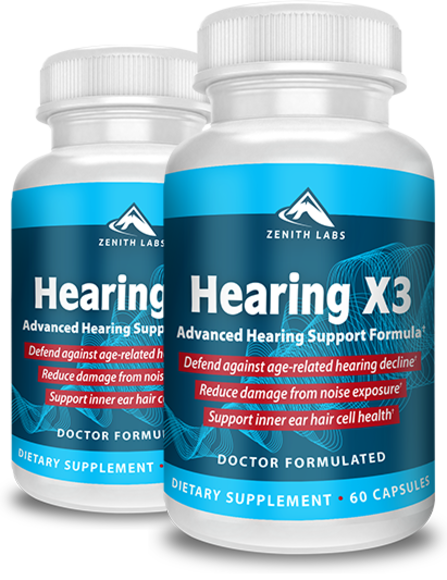 Zenith Labs' Hearing X3 Reviews - Is Hearing X3 an Effective Tinnitus Relief Supplement? Reviews by Nuvectramedical