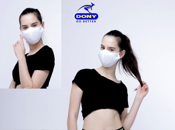 High-Speed DONY MASK Makes 250K Cloth Covering/Day - The Top Of Community Face Mask Supply Chain For US, EU and MENA market
