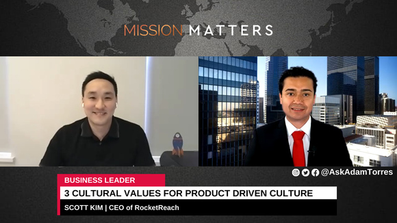 Scott Kim was interviewed on the Mission Matters Business Podcast by Adam Torres.