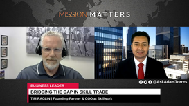 Tim Raglin was interviewed on the Mission Matters Business Podcast by Adam Torres.