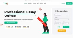 HandmadeWriting - Professional Essay Writer Service - Redesigned Website