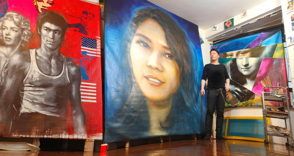 Michael Andrew Law Painting