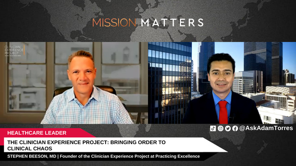 Stephen Beeson is interviewed on the Mission Matters Innovation Podcast by Adam Torres.