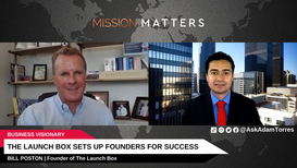 Bill Poston is interviewed on the Mission Matters Business Podcast